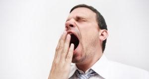 yawning in hindi